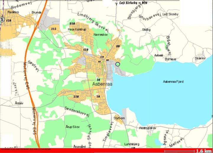 annonce lys com kort over Bonbonland
